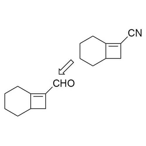 Bicyclo[4.2.0]oct-(8)-ene-8-carbonitrile