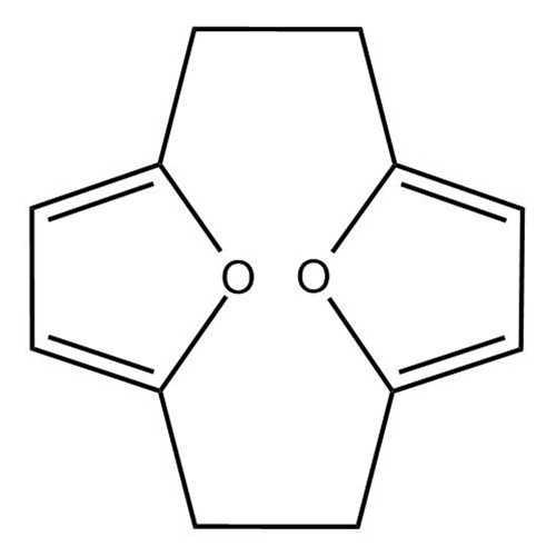 [2.2](2,5)Furanophane (13,14-Dioxatricyclo[8.2.1.1^(4,7)]tetradeca-4,6,10,12-tetraene)