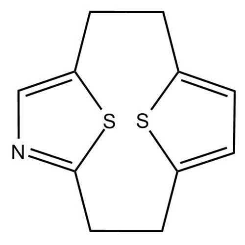[2.2](2,5)Thiopheno(2,5)Thiazolophane (13,14-Dithia-5-azatricyclo[8.2.1.1^(4,7)]tetradeca-4,6,10,12-tetraene)