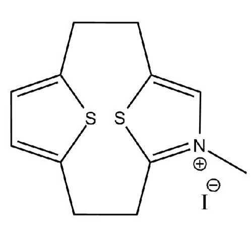 [2.2](2,5)N,Methylthiazolium(2,5)thiophenophane Iodide(13,14-Dithia-5-aza-5-N,methyltricyclo[8.2.1.1^(4,7)]tetradeca-4,6,10,12-tetraene Iodide)
