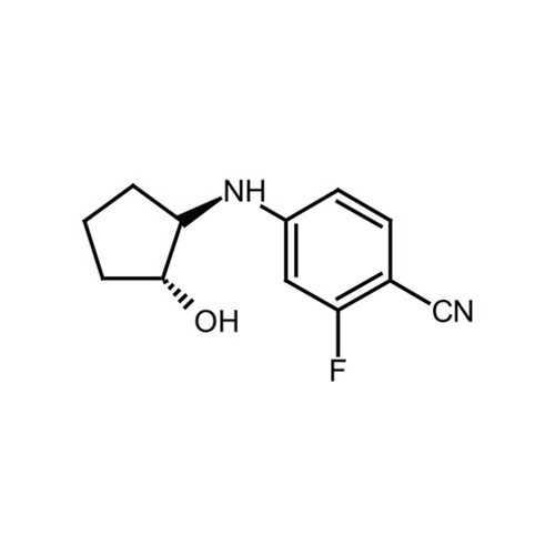 2-fluoro-4-{[(1R,2R)-2-hydroxycyclopentyl]amino}benzonitrile